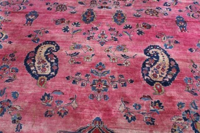 152: Large Signed Handmade Estate Carpet - 6