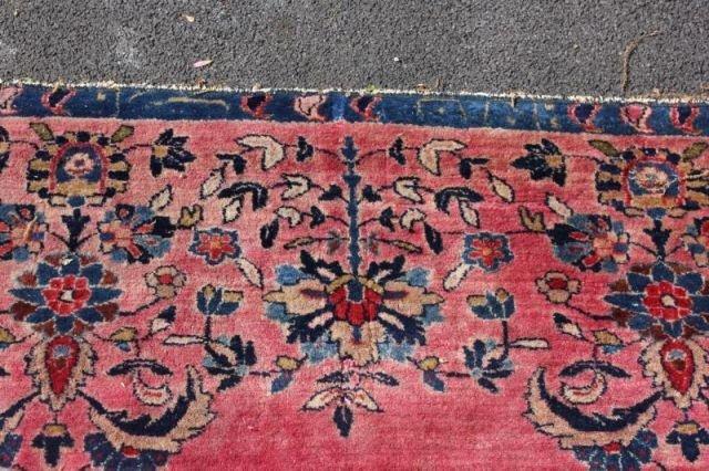 152: Large Signed Handmade Estate Carpet - 7
