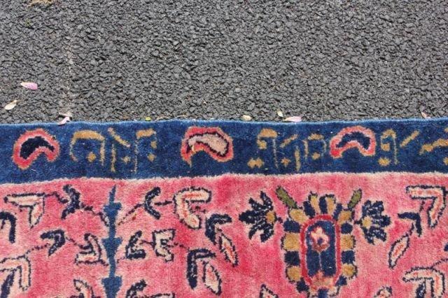 152: Large Signed Handmade Estate Carpet - 8
