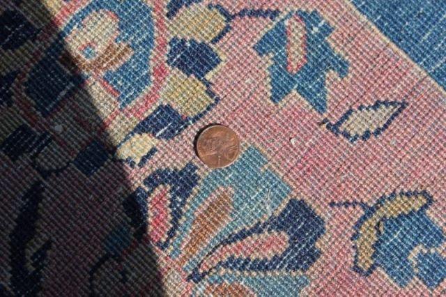 152: Large Signed Handmade Estate Carpet - 9