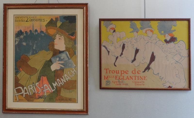 13: 2 French Posters. 1 Georges de Feure & 1 After
