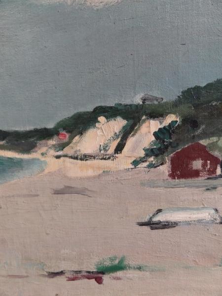 28: CIKOVSKY, Nicolai. Oil/Canvas/Board Beach Scene. - 3