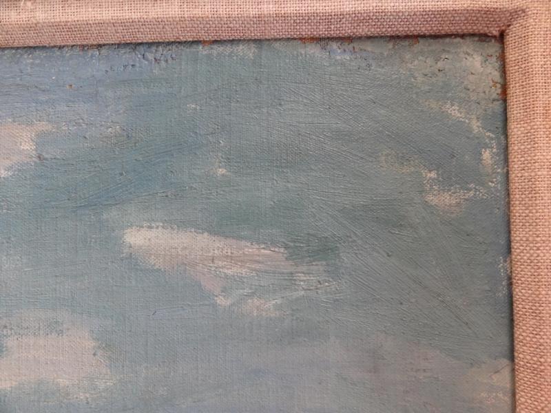 28: CIKOVSKY, Nicolai. Oil/Canvas/Board Beach Scene. - 5