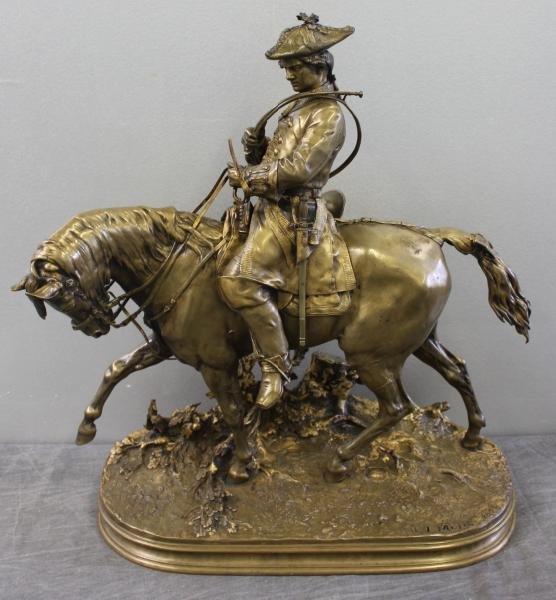 65: MENE, P.J. Bronze Huntsman.