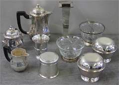 220 French Silver and Silverplate Lot