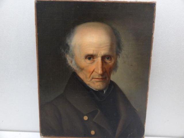 48: Oil on Canvas Portrait of a Gentleman.