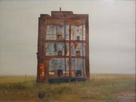 GRIGOROVICH, Vladimir. W/C Of A Derelict Building.