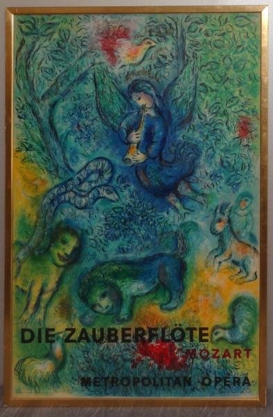 3: CHAGALL. Magic Flute Lithograph by Charles - 2