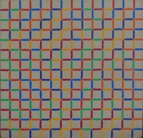 18: YRISARRY, Mario. 1973-80 Abstract Geometric O/C.