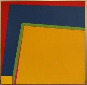 22: JOHNSON, Daniel LaRue. Abstract Geometric O/C.