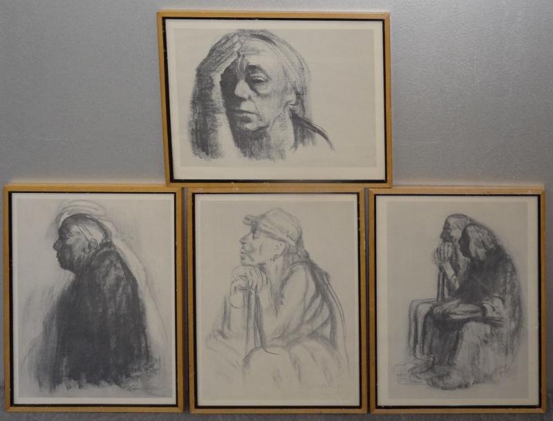 4: After KOLLWITZ. 4 Photolithographic Prints.
