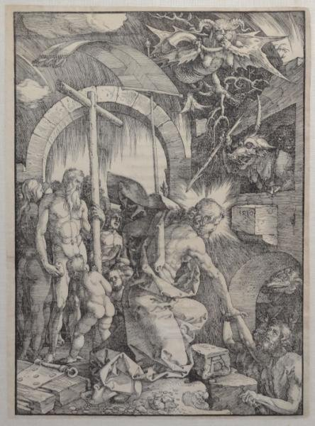 "20: DURER, Albrecht, After. Woodcut ""Christ in Limbo."""