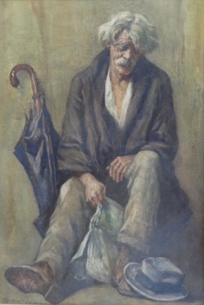 11: DATILLO RUBBO, Anthony. W/C of an Elderly Man.