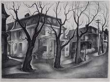 24 SPRUANCE Benton Lithograph Middle Germantown