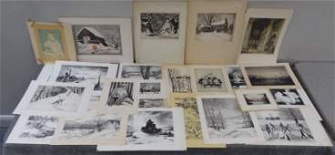 279 Large Collection of Assorted Prints