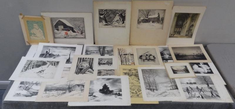 279: Large Collection of Assorted Prints.