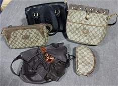 275 Collection of Vintage Fendi and Gucci Purses