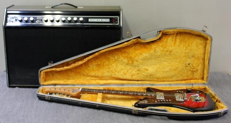 Goya Rangemaster Electric Guitar with Companion