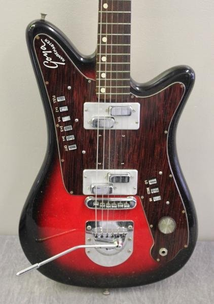 Goya Rangemaster Electric Guitar with Companion - 6