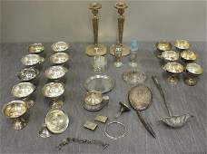STERLING. Miscellaneous Silver Lot.