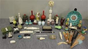Assortment of Small Asian Items