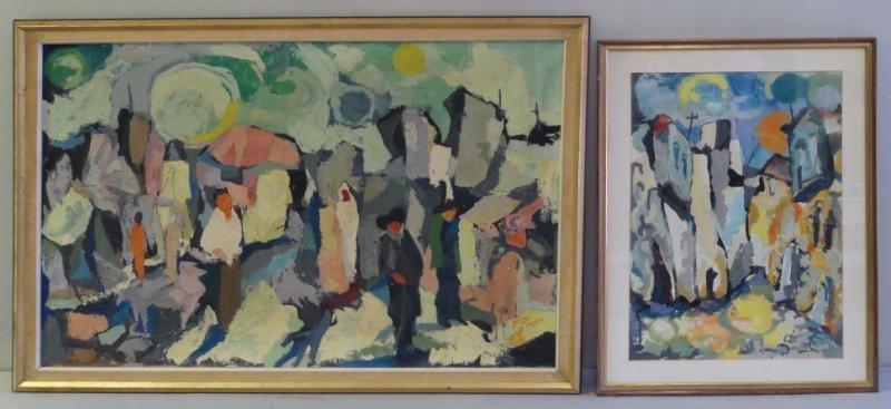 MACH, Yona. Two Israeli Paintings.