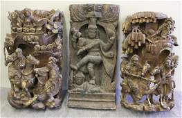 Antique Chinese Temple? Carvings.