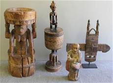 Antique African Wood Lot