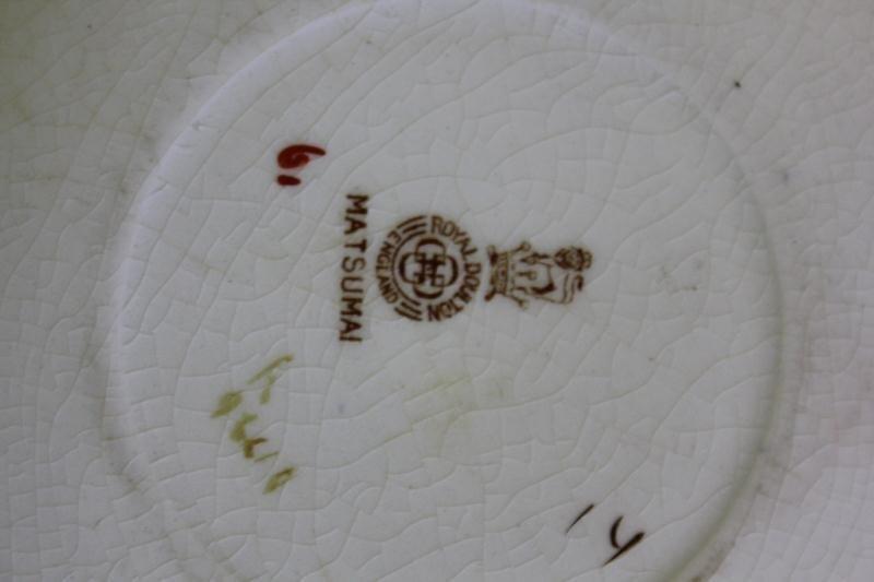 "Large Set of ""Matsumai"" Royal Doulton China. - 9"