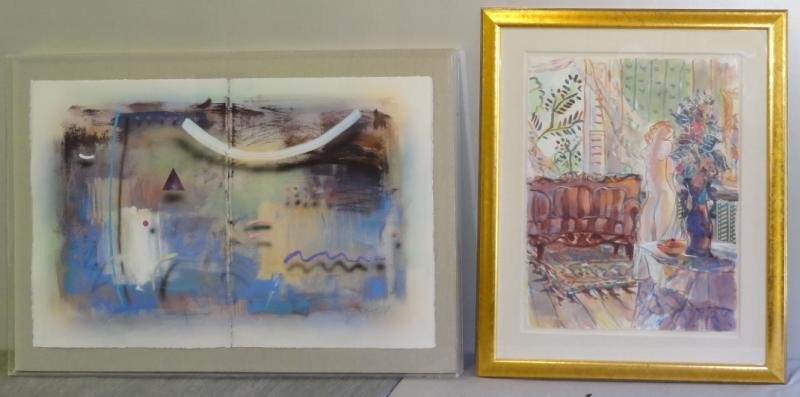 GROODY, James. Two Works on Paper.