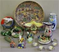 Vintage Ceramic Japanese Lot.