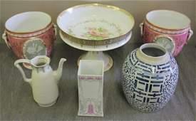 Porcelain Lot.
