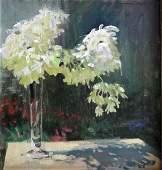 SPRICK, Daniel. Oil on Canvas Still Life with