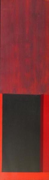 HOYLAND, John. Untitled Abstract Oil on Canvas.