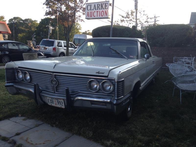 1968 Classic Chrysler Imperial Convertible.