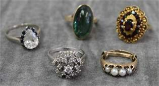 JEWELRY Estate Jewelry Grouping