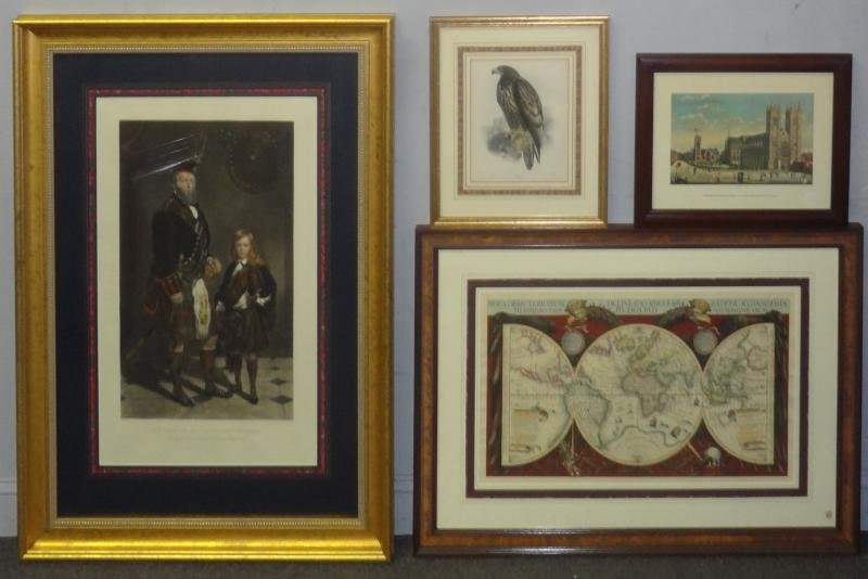 4 Framed Prints.