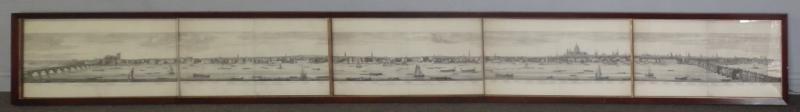 After Samuel & Nathaniel Buck. Panoramic Engraving
