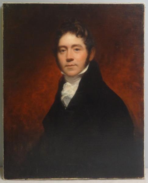 19th Century Oil on Canvas Portrait of a Gentleman