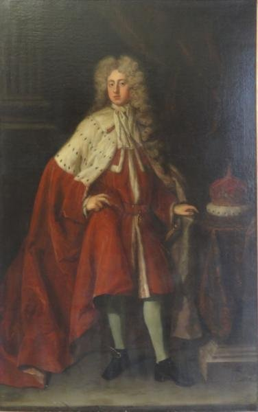 Attributed to Sir Godfrey Kneller. Full Length