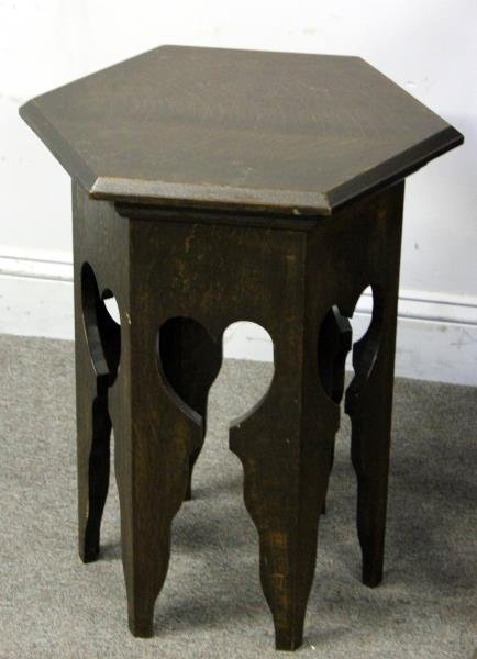 Arts and Crafts Lot of Oak Furniture to Include: - 2