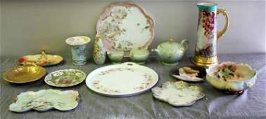 Large Lot of Assorted Limoges Porcelain.