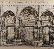MCKESSON Malcom Ink on Paper NotreDame de