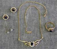 JEWELRY Miscellaneous 14kt and 18kt Gold Jewelry