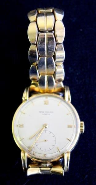 JEWELRY. Gentlemen's Patek Philippe Watch.