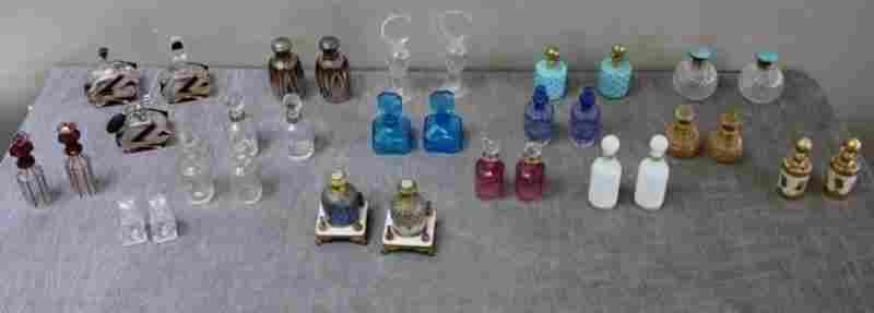Large Collection of Assorted Cologne, Scent, and
