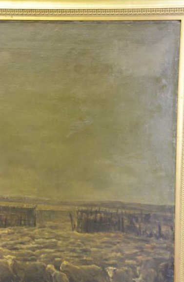 DIETERLE, Pierre-Georges. Large Oil on Canvas. - 3