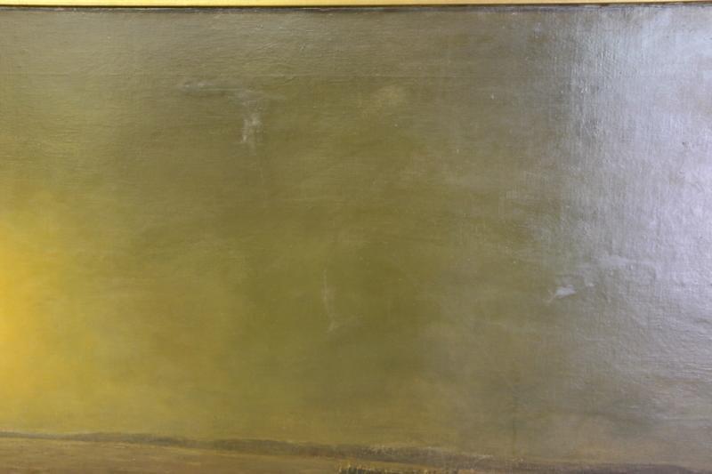 DIETERLE, Pierre-Georges. Large Oil on Canvas. - 6