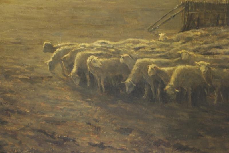 DIETERLE, Pierre-Georges. Large Oil on Canvas. - 7