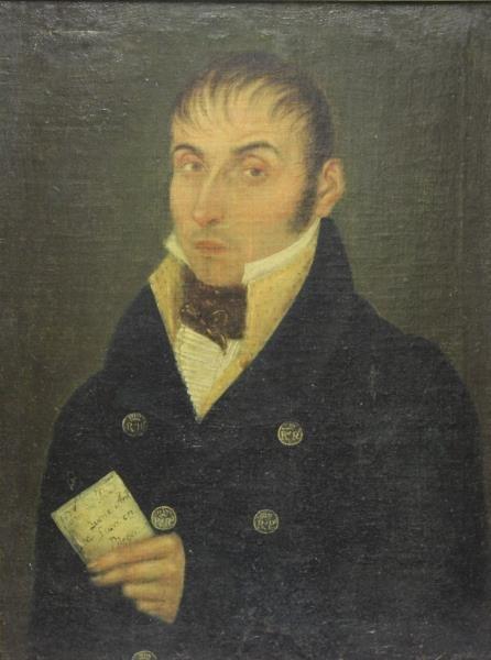 19th Century Oil on Canvas of a Gentlemen.